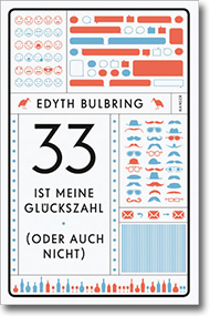 "Cover Edyth Bulbring ""33 ist meine Glückszahl"""