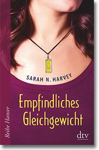 """Cover: Sarah N. Harvey """"Empfindliches Gleichgewicht"""""""