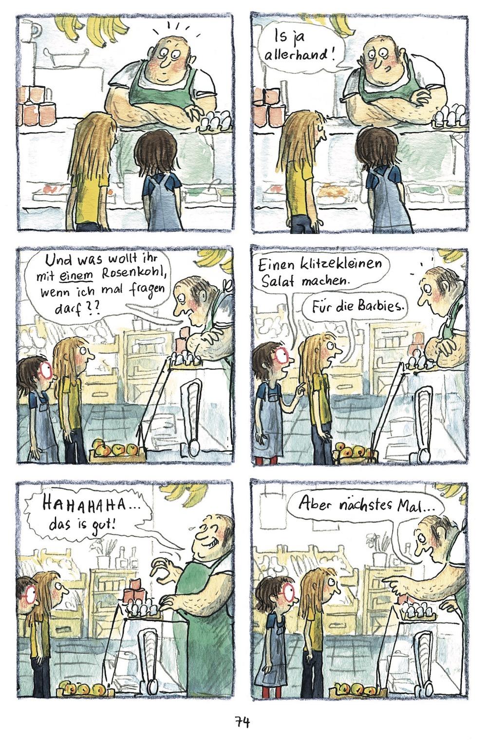 """Anke Kuhl """"Manno!"""", Seite 74"""