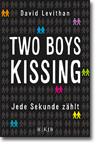 "Cover David Levithan ""Two Boys Kissing"""
