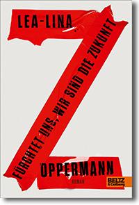 """Cover: Lea-Lina Oppermann """"Fürchtet uns, wir sind die Zukunft"""""""