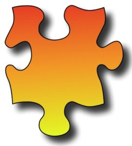 Bild Puzzleteilchen