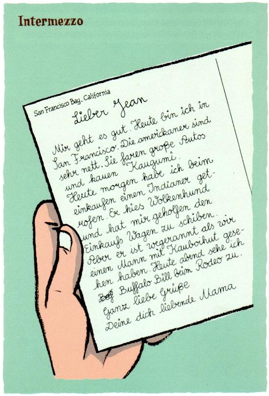 Regnaud/Bravo: Brief von der Mutter aus Amerika