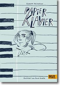 """Cover: Elisabeth Steinkellner """"Papierklavier"""""""