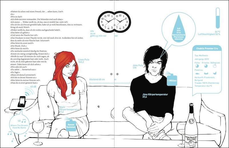 """Abb 2.: """"Mit eigenen Augen"""" - Doppelseiten-Ausschnitt aus dem Buch"""